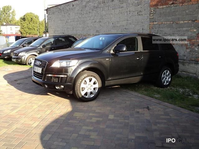 2008 audi q7 s line car photo and specs. Black Bedroom Furniture Sets. Home Design Ideas