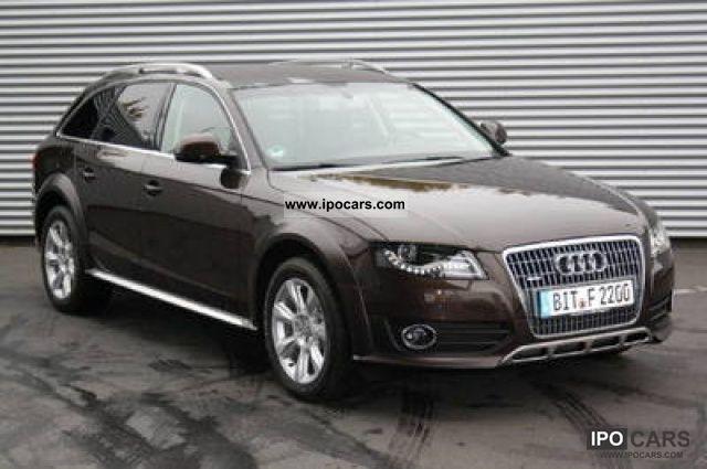 2011 Audi  A4 allroad 2.0 TDI F.AP. Advanced Vasta disponib Estate Car New vehicle photo