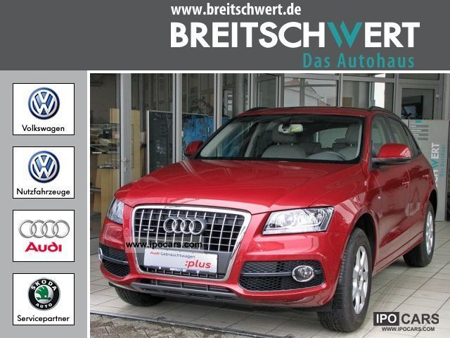 2010 Audi  Q5 S line 2.0 TDI S-tronic leather exterior Off-road Vehicle/Pickup Truck Used vehicle photo