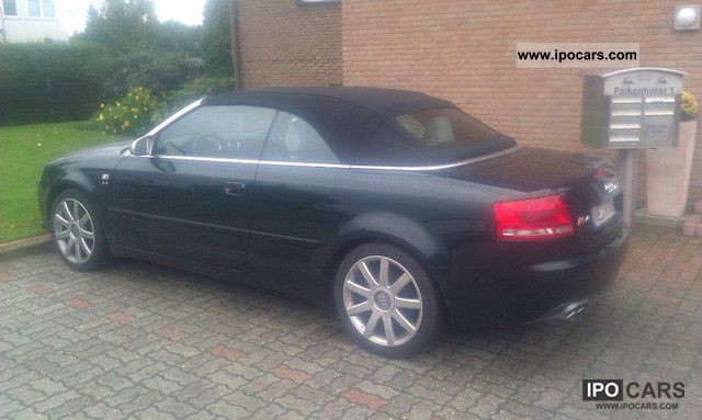 Audi  S4 Cabriolet Tiptronic * EQUIPMENT * FULL AUTO GAS 2008 Liquefied Petroleum Gas Cars (LPG, GPL, propane) photo