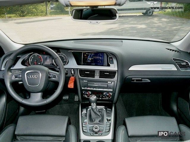 2011 Audi  A4 Allroad Quattro 3.0 TDI 2.0 TDI ou Estate Car Used vehicle photo