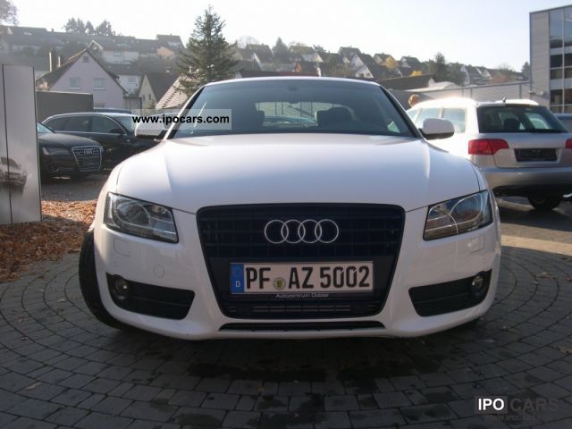 2011 Audi A5 S-line 2.0 TDI 170 PS 6 speed (GPS) - Car Photo and Specs