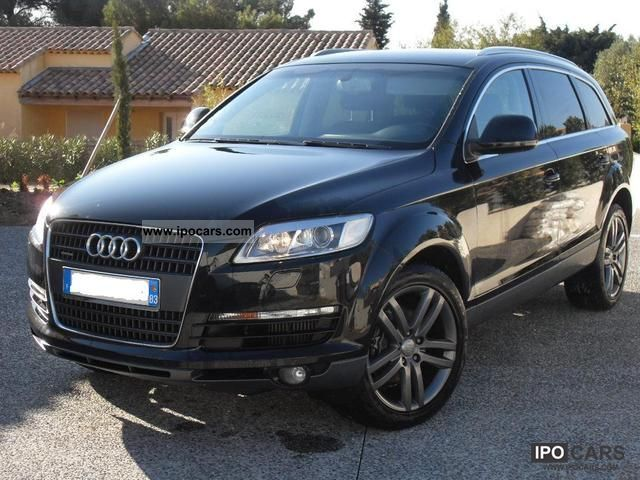 2007 audi avus q7 tdi 3 0 l dfp car photo and specs. Black Bedroom Furniture Sets. Home Design Ideas