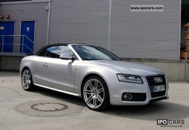 2009 audi a5 cabriolet 2 7 tdi s line navi xenon leather car photo and specs. Black Bedroom Furniture Sets. Home Design Ideas