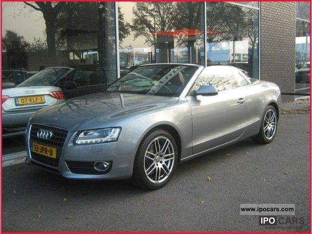 2009 audi a5 cabriolet 2 7 tdi pro line car photo and specs. Black Bedroom Furniture Sets. Home Design Ideas