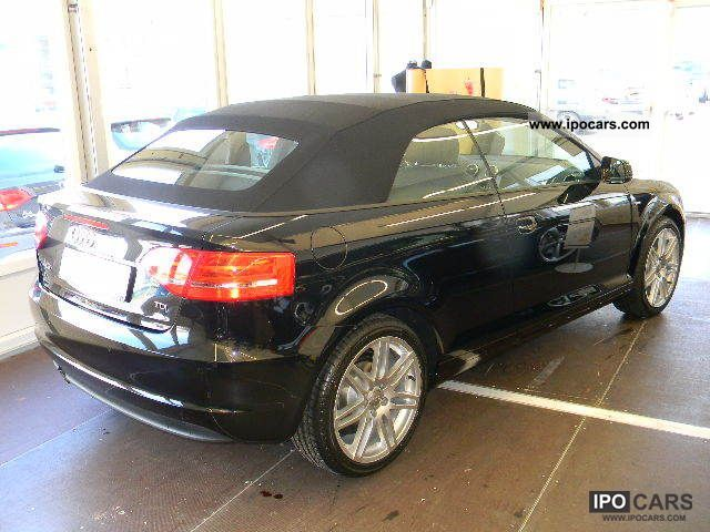 2011 audi a3 cabriolet 2 0 tdi s line sport package car photo and specs. Black Bedroom Furniture Sets. Home Design Ideas