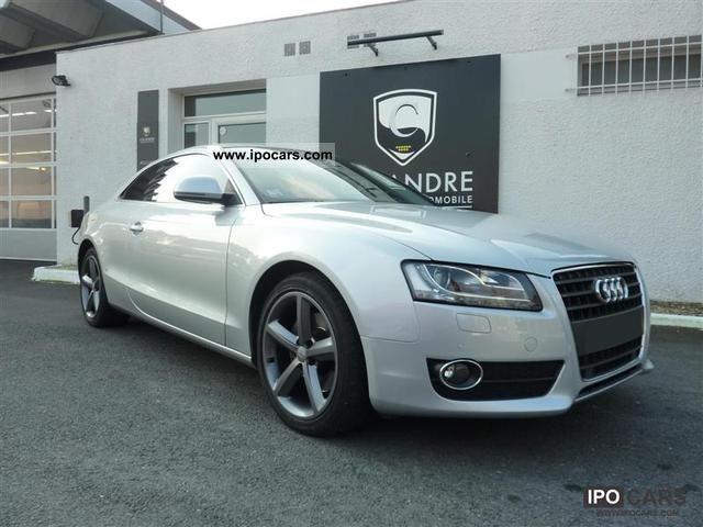 2010 Audi  A5 2.7L TDI 190CH SLine MTRO Sports car/Coupe Used vehicle photo