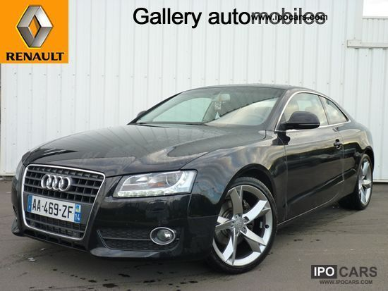2009 Audi  A5 2.7 TDI 190 DPF AMBITION LUXE Multitr Sports car/Coupe Used vehicle photo