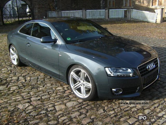 2010 audi a5 2 7 tdi s line multitronic navi leather xenon car photo and specs. Black Bedroom Furniture Sets. Home Design Ideas
