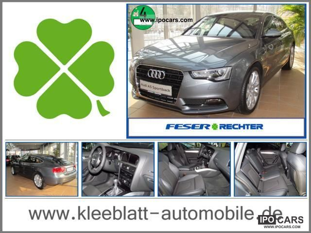 2012 Audi  A5 Sportback 2.0 TDI S-Line Navi + Xenon + +19 inch Sports car/Coupe Used vehicle photo
