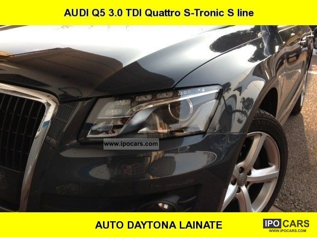 2009 Audi  Q5 Audi Q5 3.0 TDI V6 Quattro S-Tronic S FAP lin- Off-road Vehicle/Pickup Truck Used vehicle photo