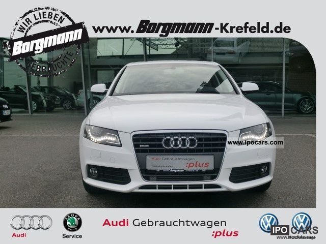 2011 Audi  A4 2.0 quattro S-tronic environment TFSi MMI navigation system, Limousine Used vehicle photo