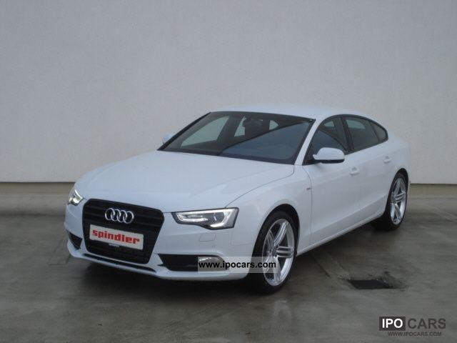 2012 Audi A5 Sportback S-Line 2 0 TDI (DPF) / MMI navigation