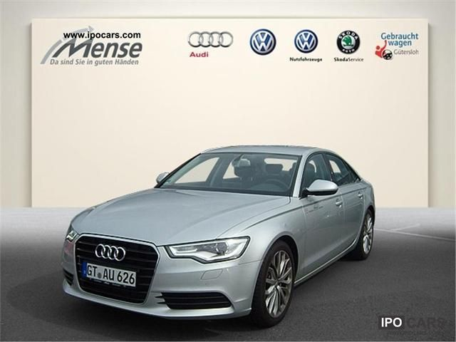 2011 Audi  A6 3.0 TDI multitronic Navi Xenon Alcantara Lede Limousine Demonstration Vehicle photo