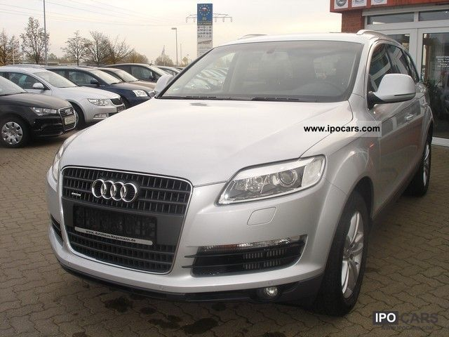 2009 Audi  Q7 3.0 TDI quattr.tiptron., Div.Extras, air spring. Off-road Vehicle/Pickup Truck Used vehicle photo