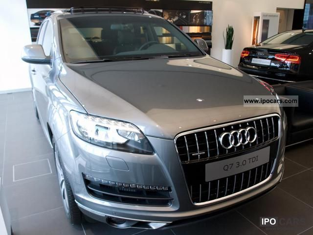 2011 Audi  Q7 to 20.8% with no down payment! 150 kW 3.0 TDI ... Off-road Vehicle/Pickup Truck New vehicle photo