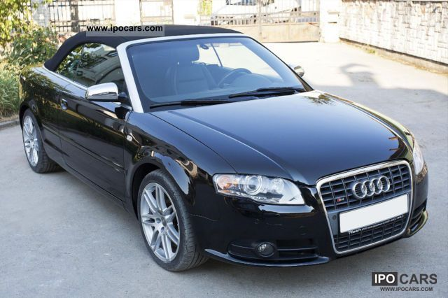 2008 audi s4 cabriolet tiptronic only 24 000 original. Black Bedroom Furniture Sets. Home Design Ideas