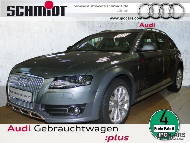 2011 Audi  A4 Allroad 2.0 TDI Navi, SD, xenon, 18 inches Estate Car Demonstration Vehicle photo