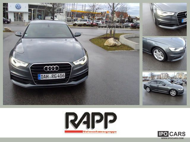 2011 Audi  A6 Saloon S line 2.0 TDI 6-speed manual gearbox Limousine Demonstration Vehicle photo