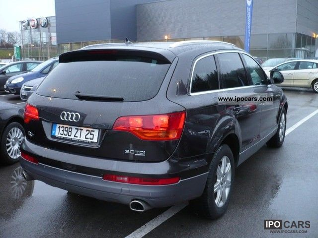 2009 audi q7 3 0 tdi dpf avus ttro 7pl car photo and specs. Black Bedroom Furniture Sets. Home Design Ideas