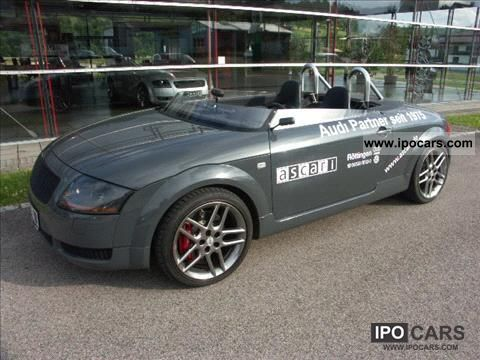 1999 audi tt ascari roadster prototype biposto car photo and specs. Black Bedroom Furniture Sets. Home Design Ideas