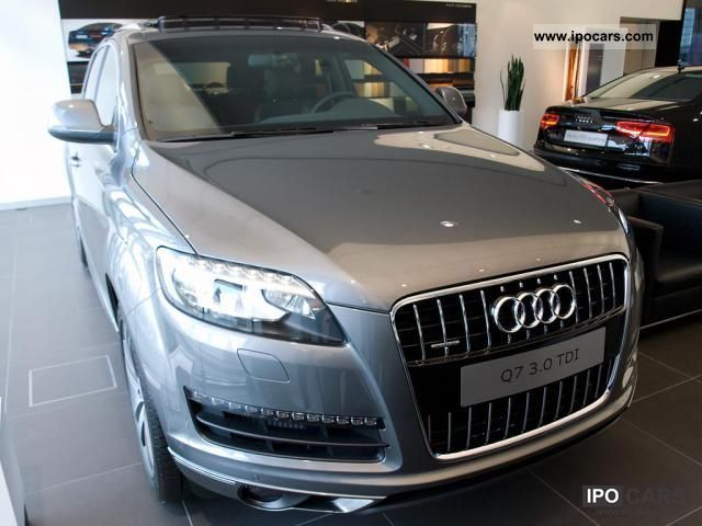 2011 Audi  Q7 to 20.8% with no down payment! 3.0 TDI (DPF) q ... Off-road Vehicle/Pickup Truck New vehicle photo