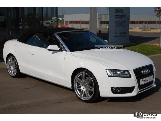2009 audi a5 2 7 v6 tdi dpf s line convertible leather navi xenon car photo and specs. Black Bedroom Furniture Sets. Home Design Ideas