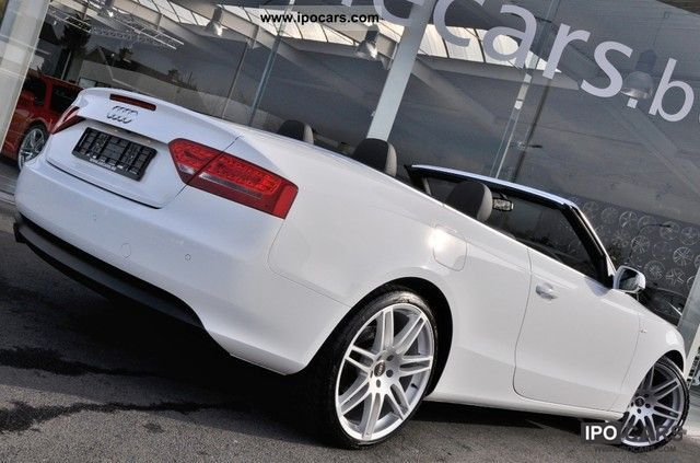 2010 Audi A5 2.0 TDI Convertible *** \ - Car Photo and Specs
