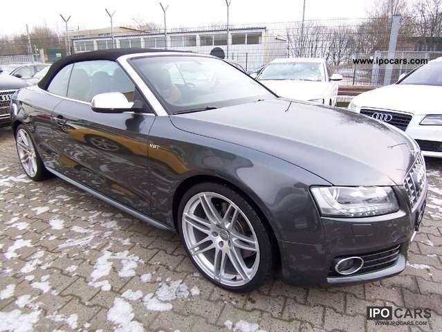 2010 Audi  3.0TFSI S tronic S5 Cabrio Leather Navi Xenon Cabrio / roadster Used vehicle photo