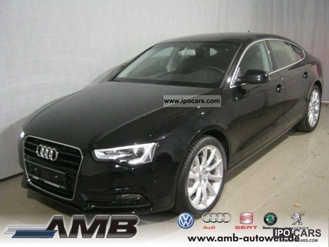 2012 Audi  A5 Sportback 2.0 TDI * new model * / 5-Sitze/Lede Sports car/Coupe Pre-Registration photo