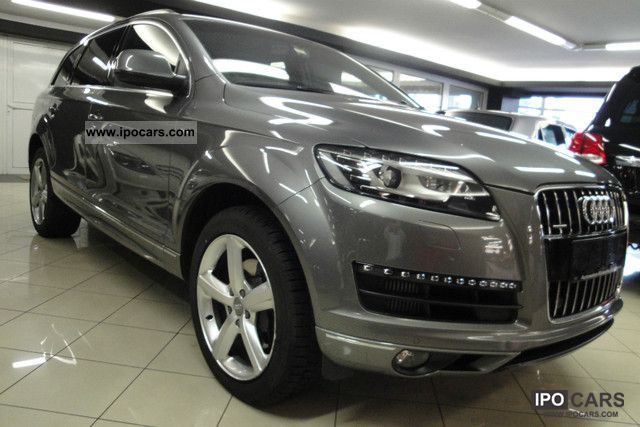 2010 audi q7 3 0 tdi quattro tiptronic s line car. Black Bedroom Furniture Sets. Home Design Ideas
