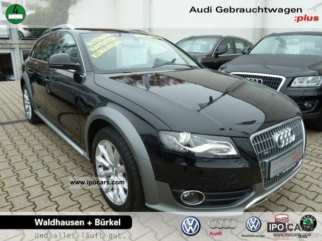 2011 Audi  A4 Allroad Avant Quattro 2.0 TFSI Combined Air Estate Car Employee's Car photo
