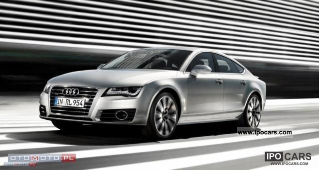 2011 Audi  A7 3.0 TDI Quattro S-tronic 204km NOWY Limousine New vehicle photo