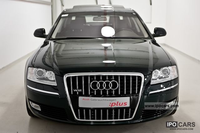 2009 Audi A8 W12 Quattro Tiptronic Navi Leather Alu Car