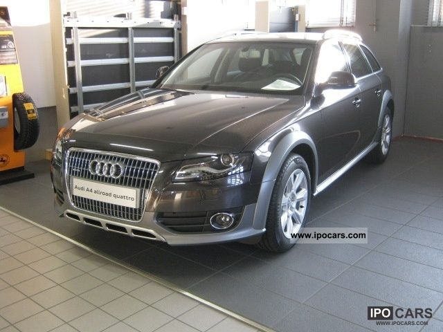 2012 Audi  A4 allroad 2.0 TDI F.AP. QUATTRO Estate Car Pre-Registration photo