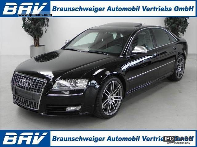 2009 Audi  S8 5.2 Quattro 20 inch leather camera SD Limousine Used vehicle photo