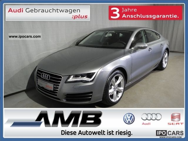 2011 Audi  A7 Sportback 3.0 TDI Multivan. / LED headlight. / BOSE / MFL Sports car/Coupe Employee's Car photo