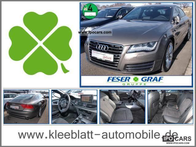 2011 Audi  A7 Sportback 3.0 TDI S-Line Navi multitol +19 + LED ` Limousine Used vehicle photo