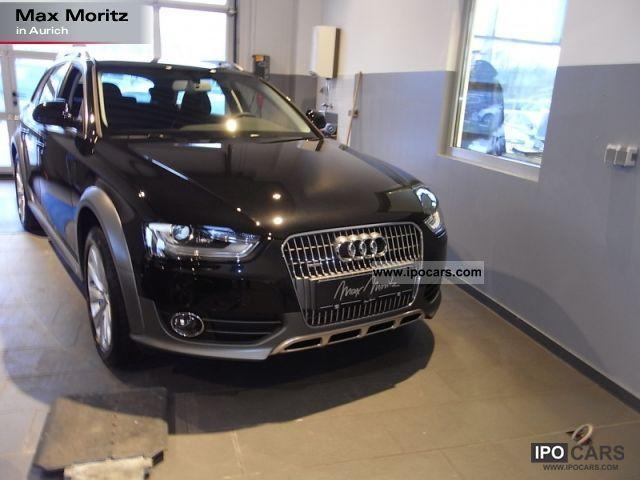 2012 Audi  A4 allroad 2.0 TDI xenon Navi-Plus/Teilleder Estate Car Used vehicle photo