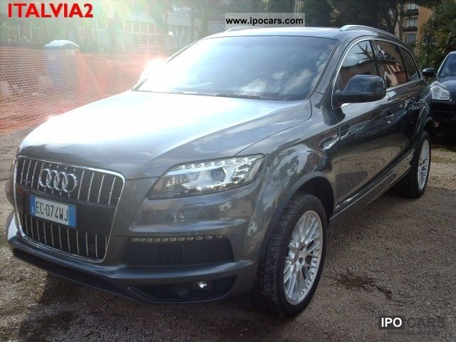 2010 audi q7 v6 3 0 tdi s line led retro camera car. Black Bedroom Furniture Sets. Home Design Ideas