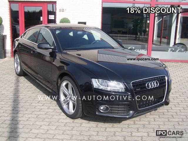 2011 Audi  3.0TDI Sportback S tronic S line 18% discount Sports car/Coupe New vehicle photo