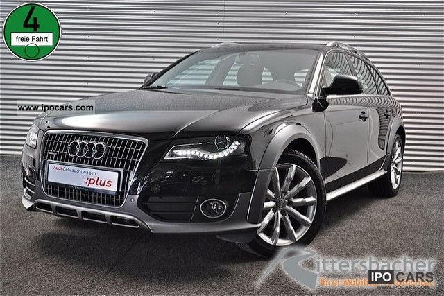 2011 audi a4 allroad 3 0 tdi quattro tiptronic s xenon lic. Black Bedroom Furniture Sets. Home Design Ideas