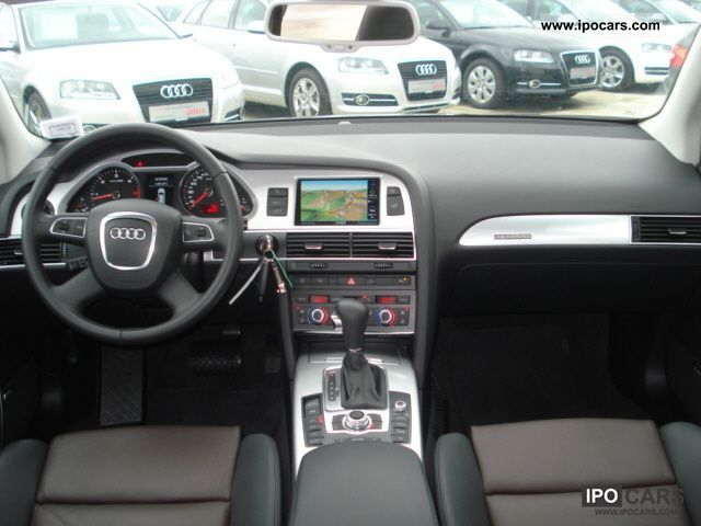2010 audi a6 allroad quattro the mmi navigation plus air leather car photo and specs. Black Bedroom Furniture Sets. Home Design Ideas