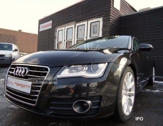 2010 Audi  A7 3.0 TDI QUATTRO BEIGE LEATHER NIGHT VISION RADAR Sports car/Coupe Used vehicle photo