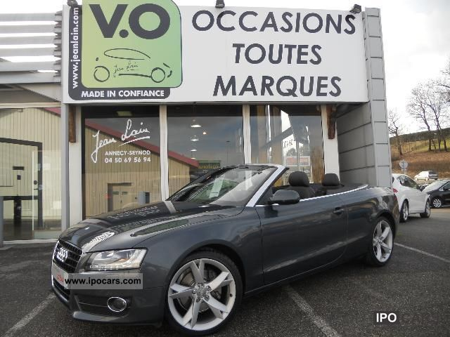2009 Audi  3.0 V6 TDI 240 DPF Quattro Ambition Luxe Cabrio / roadster Used vehicle photo