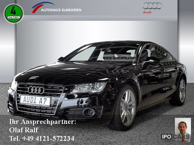 2011 Audi  A7 Sportback 3.0 TDI S-Line NAVI PLUS ACC BTA Sports car/Coupe Demonstration Vehicle photo