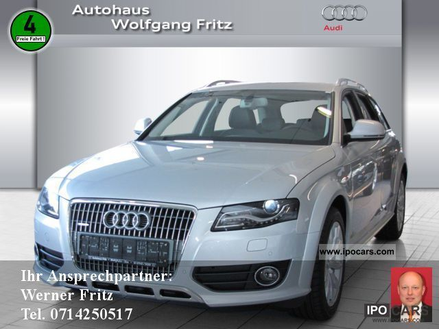 2012 Audi  A4 Allroad 3.0 TDI Quattro S-Tronic NAVIGATION Estate Car Demonstration Vehicle photo