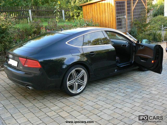 2011 audi a7 3 0 tdi brown leather 20 inch camera car. Black Bedroom Furniture Sets. Home Design Ideas