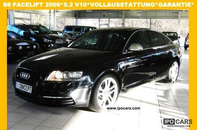 2009 audi top of the line s6 carbon guarantee car photo and specs. Black Bedroom Furniture Sets. Home Design Ideas
