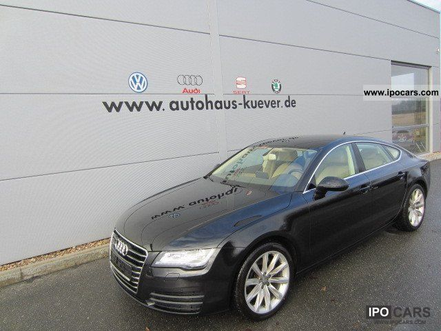 2011 Audi  A7 Sportback 3.0 TDI Quattro Navigation leather xenon Limousine Used vehicle photo